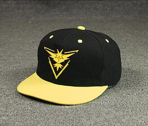 Pokemon GO! Cosplay Hat / Cap Team Instinct (Yellow)