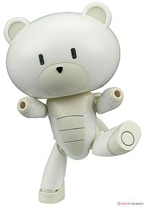 Gundam High Grade Petit'Gguy 1/144 Scale Model Kit: #005 Petit'gguy Milkwhite