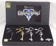 Kingdom Hearts KeyChain 4-Piece (4PC) Set 2016 Summer Convention Exclusive