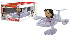 Pop! Rides Heroes DC Comics Wonder Woman Vinyl Figure The Invisible Jet #16 (Vaulted)