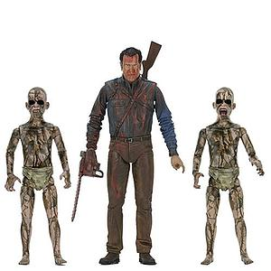 Ash vs Evil Dead 3 Pack: Bloody Ash & Demon Spawn