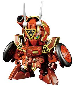 "Gundam SD Build Fighters #41 Model Kit: ""Kurenai Musha"" Red Warrior Amazing"