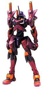 Neon Genesis Evangelion Model Kit: EVA-01 Type F