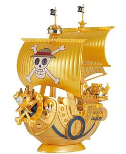 "One Piece Grand Ship Collection Model Kit: Thousand Sunny ""Film Gold"" Release Anniversary Color Ver."
