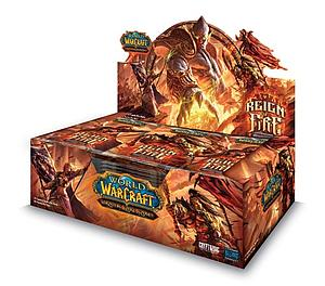 World of Warcraft Trading Card Game Reign of Fire: Booster Box
