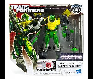 Transformers Generations Voyager Class: Autobot Springer