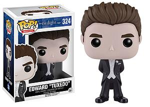 "Pop! Movies The Twilight Saga Vinyl Figure Edward ""Tuxedo"" #324 (Vaulted)"