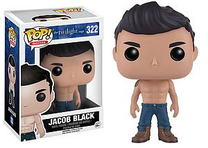 Pop! Movies The Twilight Saga Vinyl Figure Jacob Black #322 (Retired)