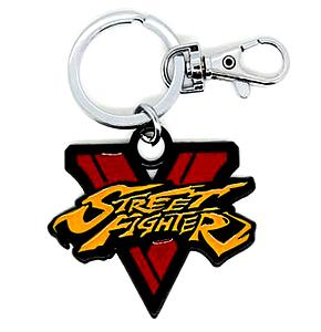 Street Fighter Keychain SFV Logo