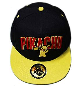 Pokemon Hat / Ballcap Pikachu Yellow Brim (Snapback)