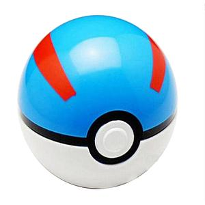 Pokemon Cosplay Pokeball  Toy Opening Great Ball (2.75 Inch)