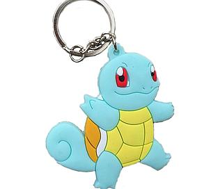 Pokemon Keychain Squirtle (Rubber)