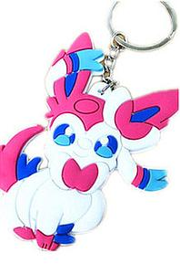 Pokemon Keychain Sylveon (Rubber)