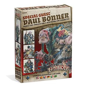 Zombicide: Black Plague Special Guest Box: Paul Bonner