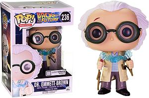 Pop! Movies Back to the Future Vinyl Dr. Emmett Brown #236 Lootcrate Exclusive