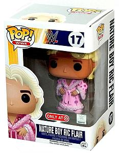 Pop! WWE Vinyl Figure Nature Boy Ric Flair #17 Target (No Sticker) Exclusive