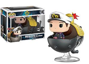 Pop! Rides Games Song of the Deep Vinyl Figure Merryn with S.S. Eirnin #18 (EB Games/Gamestop Exclusive)