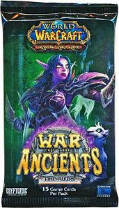 World of Warcraft Trading Card Game War of the Ancients: Booster Pack
