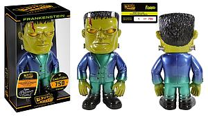 Hikari Sofubi Monsters Japanese Vinyl Figure Metallic Frankenstein