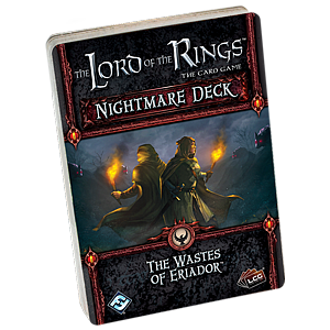 The Lord of the Rings: The Card Game - The Wastes of Eriador Nightmare Deck