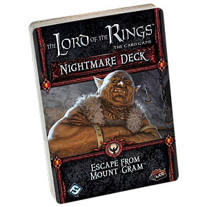 The Lord of the Rings: The Card Game - Escape from Mount Gram Nightmare Deck