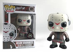 Pop! Movies Friday the 13th Vinyl Figure Jason Voorhees (Glows in the Dark) #01 Chase