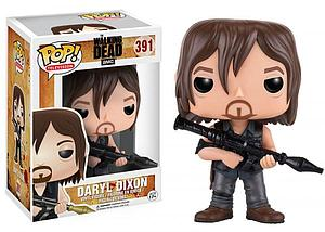 Pop! Television The Walking Dead Vinyl Figure Daryl (with Rocket Launcher) #391