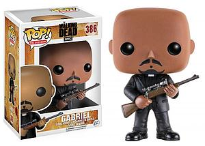 Pop! Television The Walking Dead Vinyl Figure Gabriel Stokes  #386 (Vaulted)