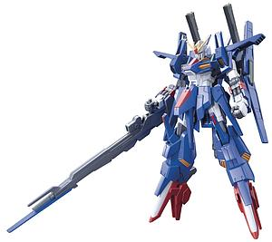 Gundam High Grade Build Fighters 1/144 Scale Model Kit: #045 ZZII