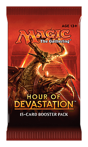 Magic the Gathering: Hour of Devastation Booster Box (15 Cards)