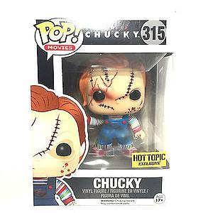 Pop! Movies Bride of Chucky Vinyl Figure Chucky #315 Hot Topic Exclusive