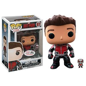 Pop! Marvel Ant-Man Vinyl Bobble-Head Ant-Man (Unmasked) #87 Collector Corps Exclusive