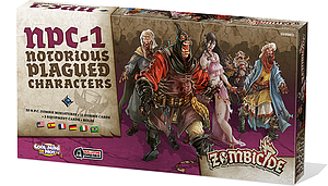 Zombicide: NPC-1 Notorious Plagued Characters