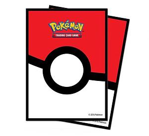 Pokeball Standard Card Sleeves (66mm x 91mm)