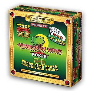 10 Poker Games in One Box