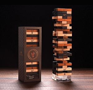 Jenga Premium Hardwood Game