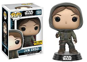 Pop! Star Wars Rogue One Vinyl Bobble-Head Jyn Erso (Hood) #150 Hot Topic Exclusive (Sale)