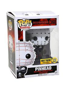 Pop! Movies Hellraiser III Vinyl Figure Pinhead (Glows in the Dark) #360 Hot Topic Exclusive