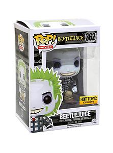 Pop! Movies Beetlejuice Vinyl Figure Beetlejuice (Adam's Clothes) #362 Hot Topic Exclusive