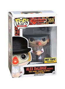 Pop! Movies Clockwork Orange Vinyl Figure Alex DeLarge (Masked) #359 Hot Topic Exclusive