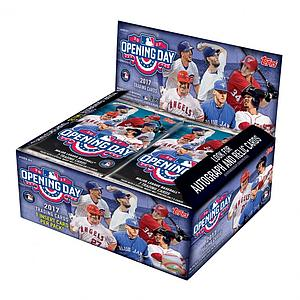 2017 MLB Opening Day Baseball Hobby Box