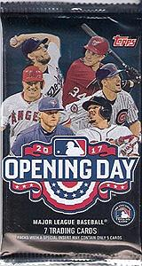 2017 MLB Opening Day Baseball Hobby Pack