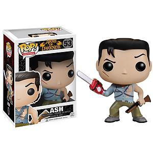 Pop! Movies Army of Darkness Vinyl Figure Ash #53 (Vaulted)