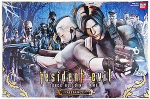 Resident Evil Deck Building Game: Alliance