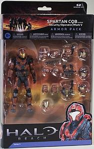 Halo Reach 6 Inch Series 5 Two-Pack: Spartan QCB (Security/Operator/Mark V)