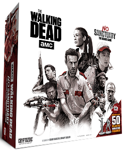 The Walking Dead: No Sanctuary Minis Game (Plastic Miniatures Version)