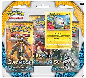 Pokemon Trading Card Game: Sun&Moon 3-Pack Blisters - Togedemaru
