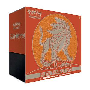 Pokemon Trading Card Game: Sun & Moon Lunala/Solgaleo Elite Trainer Box - Solgaleo