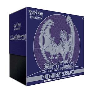 Pokemon Trading Card Game: Sun & Moon Lunala/Solgaleo Elite Trainer Box - Lunala