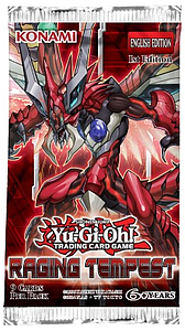 YuGiOh Trading Card Game: Raging Tempest Booster Pack